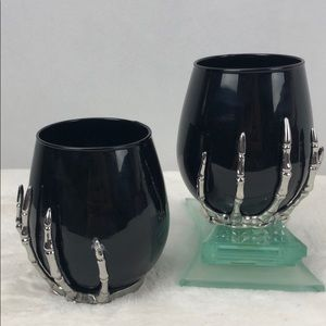 Stemless Halloween glasses
